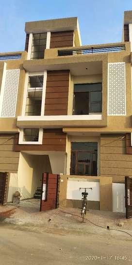 84 square yard duplex villa 4 BHK