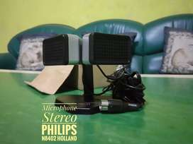 Microphone Stereo Philips N8402 made in Holland