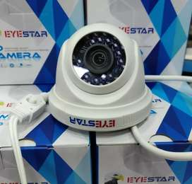 4 Cameras of 2.0mp complete package with installation