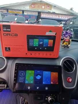 Promo awal bln tv android 9 inch merek orca dpt kamera