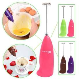 Electric Egg Beater and Coffee Mixture