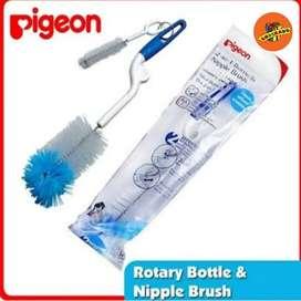 Pigeon Bottle & Nipple Brush Sikat Botol 2 in 1