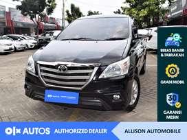 [OLXAutos] Toyota Kijang Innova 2015 2.0 E A/T Bensin Hitam #Allison