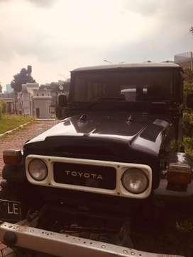 Fj40 1980 Swap engine 1 HDT automatic Pajak on Surat2 tembus BPKB STNK