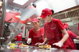 female cook required for fast food brand