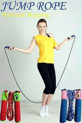 HS tali skipping jump rope skipping soft handle with counter