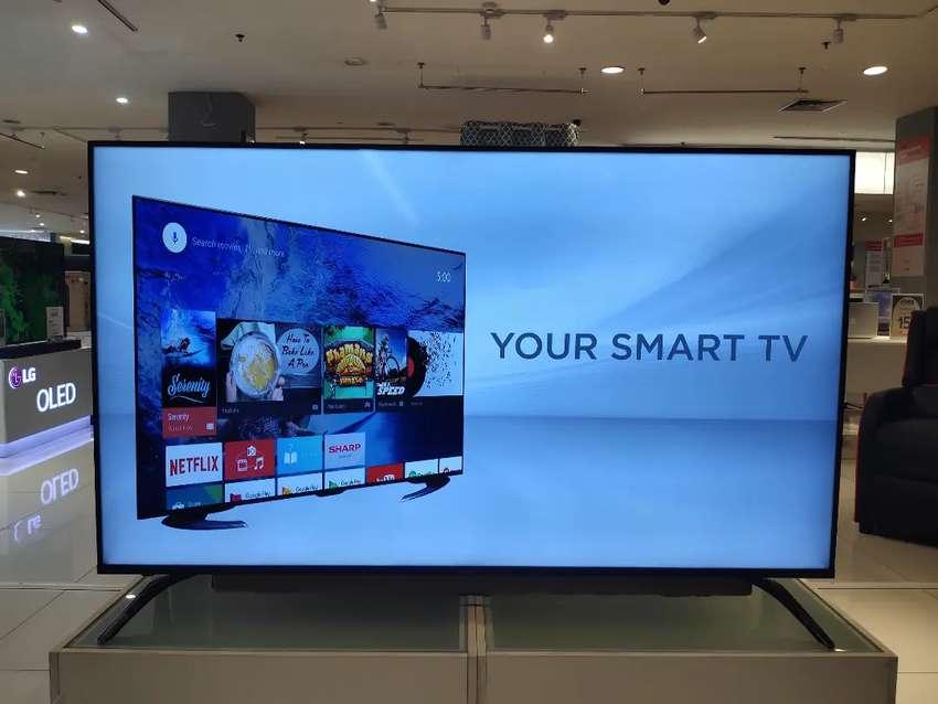 "SHARP LED TV SMART 4K 70"""