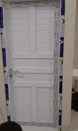 pintu alumunium full dan kusen