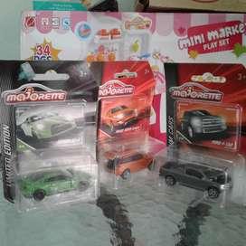 Diecast Nissan GTR Range Rover Evoque Ford Paket Majorrete