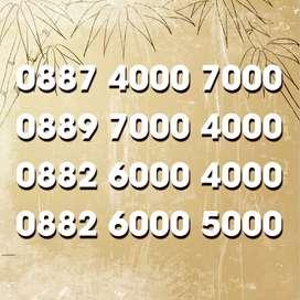 Nomor cantik Double ribuan joss