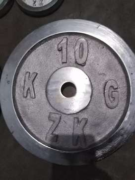 Home gym equipments for sale holesale price 250 pr kg crome plates