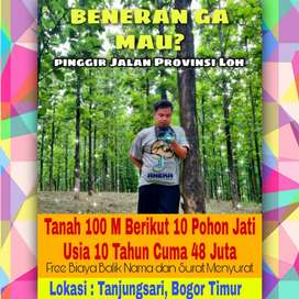 Jual tanah kavling murah di Bogor cocok untuk invest