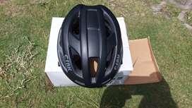 Helm sepeda roadbike CRNK cool black size L