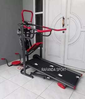 Alat Olahraga Lari Di Tempat Treadmill Manual 6in1 TL-04