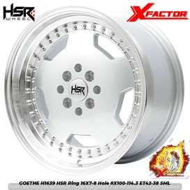 Velg Racing HSR GOETHE R16X7/8 Buat Mobil Soluna, Starlet, Valco, Vios
