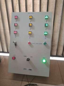 panel ats amf 80kva-100kva cos motoreiz 125a 3pase