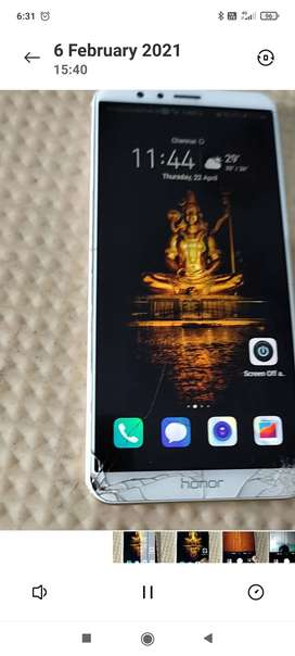 Honor 7X 4GB RAM - Touch Working Condition
