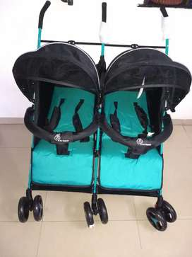 R for Rabbit: Twin Stroller