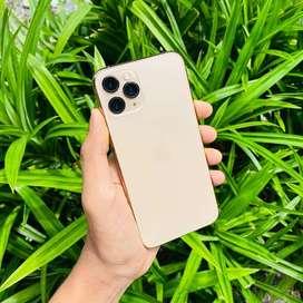IPhone 11 Pro 64Gb Gold Mewah Warna Favorit Fullset