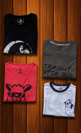100% Cotton T-Shirts ( Men - Women) and trousers