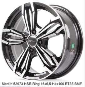 VELG MOBIL MERKIN 52973 HSR R16X65 H4x100 ET35 BMF