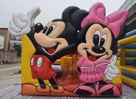dijual murah istana balon bisnis mainan kesukaan anak