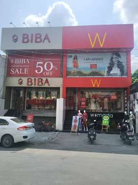 GHAZIABAD 900 sqft to 3500 sqft Showroom/Shops spaces  for LEASE