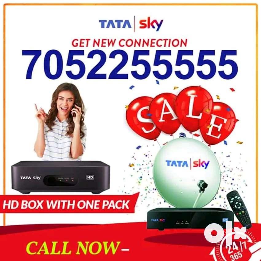 Hd Box New Connection | Airtel Dth | Dish Tv | Tatasky | 0