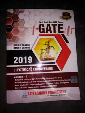 Electrical Gate Previous Year Book