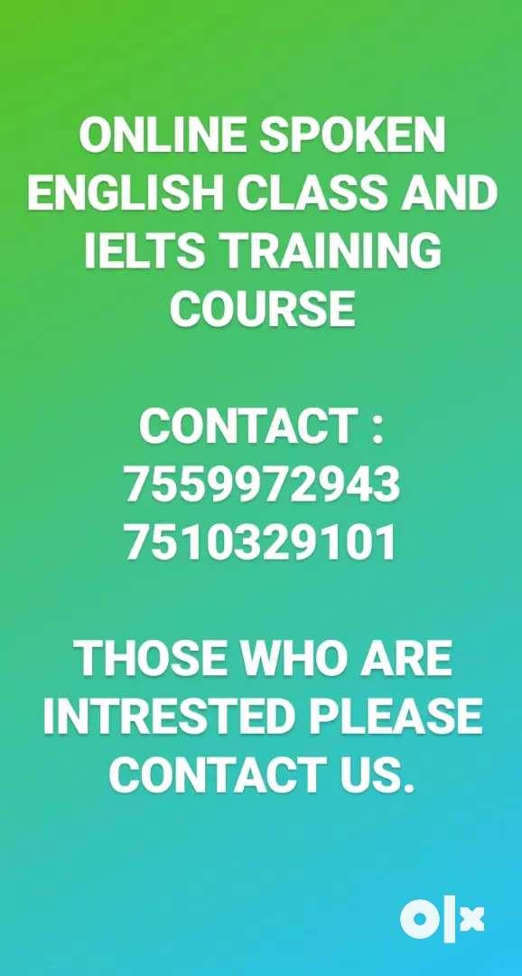 Spoken English class and IELTS Training 0