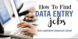 Data entry home based good and best typing works earn good money also