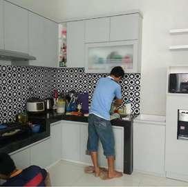 Kitchen Set Duco, Hpl dan Tacosheet Moderen