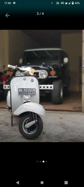 vespa super 1978 istrimewah