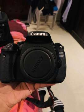 Canon 600D DSLR BODY with 18-55mm Lens