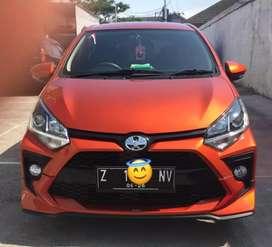 Toyota agya 1.2 TRD S automatic 2021