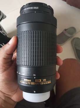Nikkon D3400 kit (70-300 mm) and 18-55mm lens