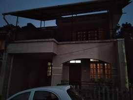 Corner 3bhk row house in shantinagar, ponda