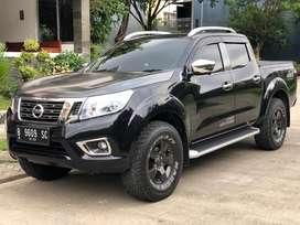 Jual Mobil Nissan Navara NP300 VL AT 2017 Hitam