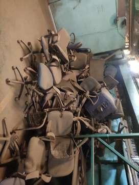 Damage chairs