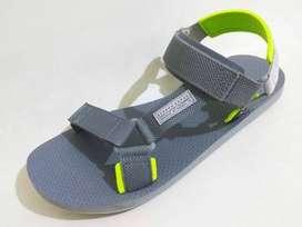 Sepatu Sendal Reebok CrossFit Expce CN6478 Cold Grey NeonLime Original
