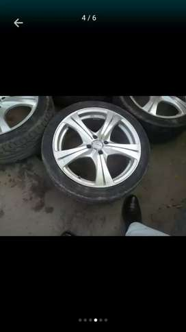 Alloy wheels sports 17 k special only rim.