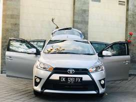 yaris G 2015 Manual kwalitas super langka asli bali