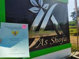 Perumahan As-shofa siap bangun berhadia sepeda gunung