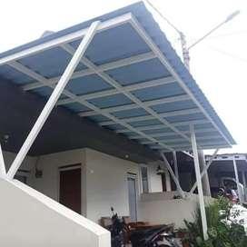 Canopy atap alderon rs bengkel las sumber rezeki