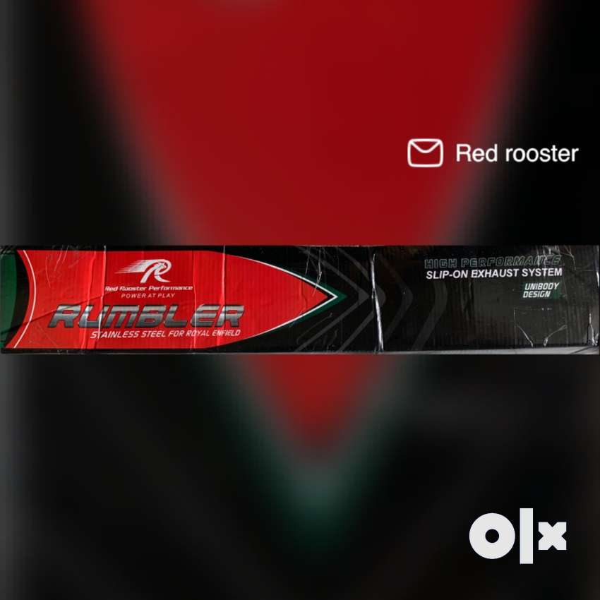 Red Rooster silencer for Bullet New condition