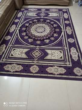 Almost new Rug of purple color 10x6