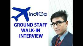 Indigo Airlines Job Opened- Airlines - Airport Job - Ground Staff Job