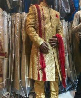 sherwani one time used in excellent condition