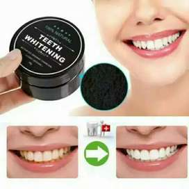 Pemutih Gigi Charcol Teeth Whitening Powder