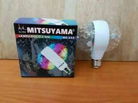 Lampu disco 2 sisi mitsuyama